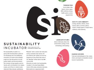 Sustainability Incubator Spring 2016