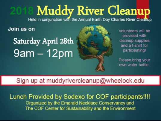 Muddy River Cleanup