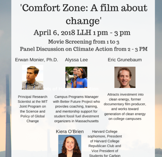 Climate Change film at Emmanuel