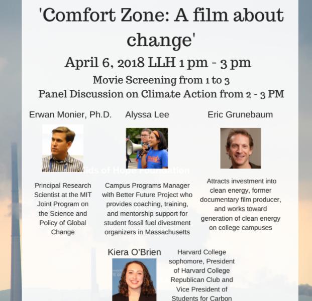 Climate Change film at Emmanuel