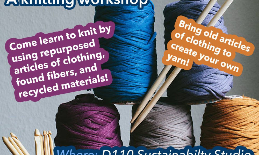 Knitting Workshop 2/27 Thursday 7-8:30pm