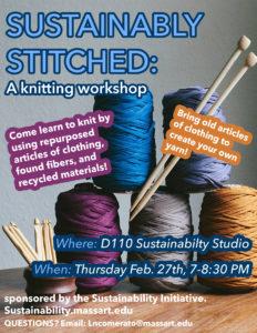 sustainable stitch workshop