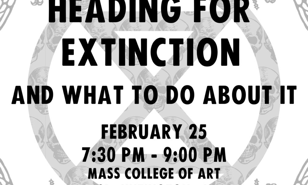 Heading for Extinction XR talk